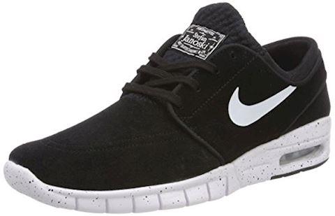 Nike SB Stefan Janoski Max L Men's Skateboarding Shoe - Black Image