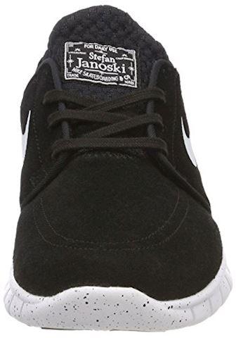 Nike SB Stefan Janoski Max L Men's Skateboarding Shoe - Black Image 4