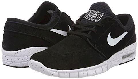 Nike SB Stefan Janoski Max L Men's Skateboarding Shoe - Black Image 5