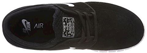 Nike SB Stefan Janoski Max L Men's Skateboarding Shoe - Black Image 7