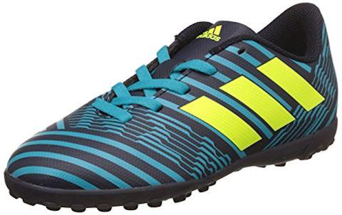 adidas Kids Nemeziz 17.4 TF Legend Ink Solar Yellow Energy Blue Image