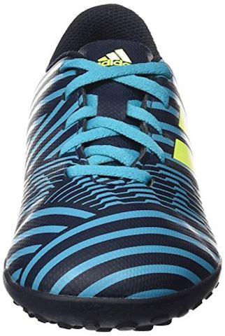 adidas Kids Nemeziz 17.4 TF Legend Ink Solar Yellow Energy Blue Image 11