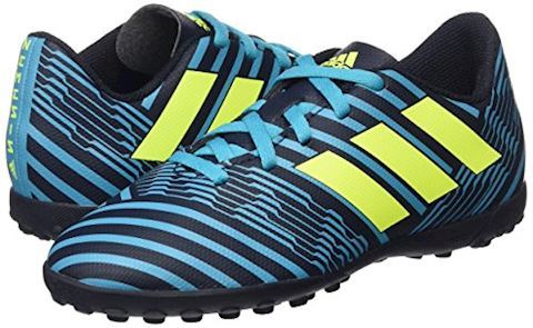adidas Kids Nemeziz 17.4 TF Legend Ink Solar Yellow Energy Blue Image 12
