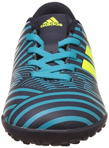 adidas Kids Nemeziz 17.4 TF Legend Ink Solar Yellow Energy Blue Image 4