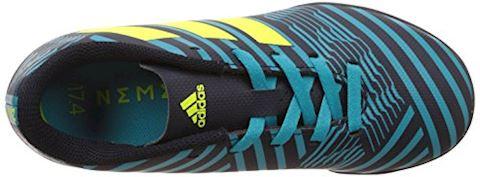 adidas Kids Nemeziz 17.4 TF Legend Ink Solar Yellow Energy Blue Image 7