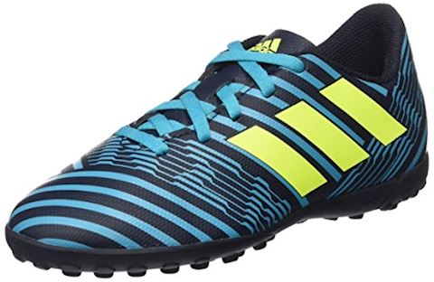 adidas Kids Nemeziz 17.4 TF Legend Ink Solar Yellow Energy Blue Image 8