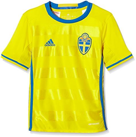adidas Sweden Kids SS Home Shirt 2016 Image