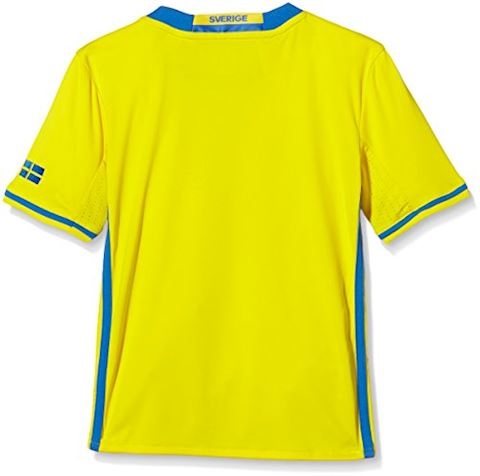 adidas Sweden Kids SS Home Shirt 2016 Image 2