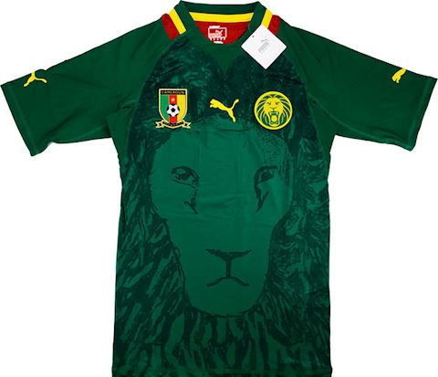Puma Cameroon Mens SS Player Issue Home Shirt 2011 Image