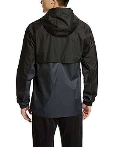 adidas Tiro 17 Rain Jacket Black Dark Grey White Image 2