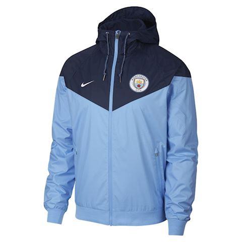 Nike Manchester City FC Windrunner Men's Jacket - Blue Image