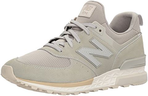 New Balance  MS574  women's Shoes (Trainers) in Grey Image