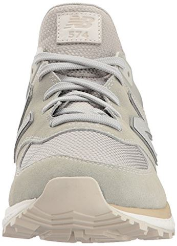 New Balance  MS574  women's Shoes (Trainers) in Grey Image 4