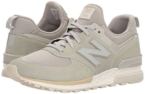 New Balance  MS574  women's Shoes (Trainers) in Grey Image 6
