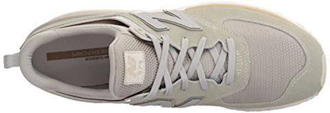 New Balance  MS574  women's Shoes (Trainers) in Grey Image 8