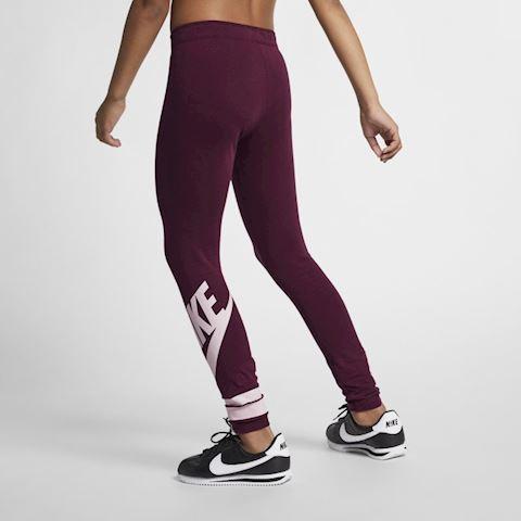fc7b4ac8a2 Nike Sportswear Older Kids' (Girls') Graphic Leggings - Purple