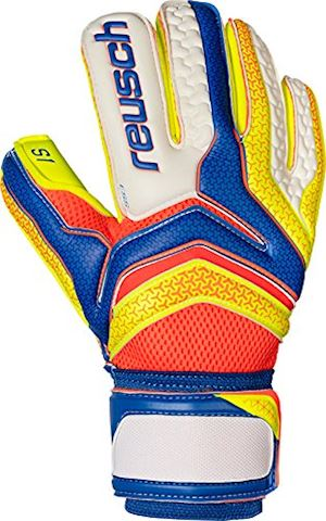 Reusch Goalkeeper Gloves Serathor Prime S1 Roll Finger - Dazzling Blue/Safety Yellow