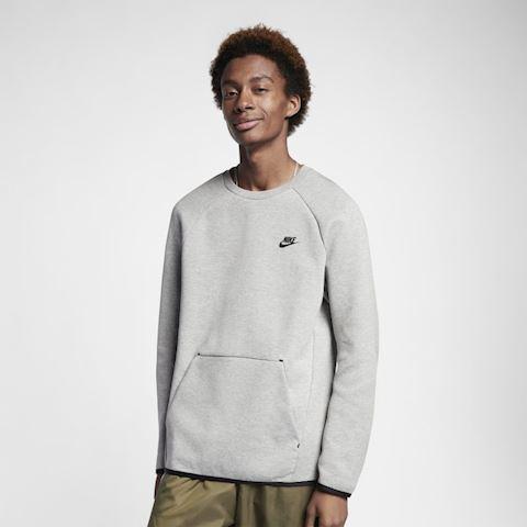Nike Sportswear Tech Fleece Men's Long-Sleeve Crew - Grey Image