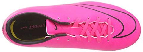 Nike Jr. Mercurial Victory V Older Kids'Firm-Ground Football Boot - Pink Image 7