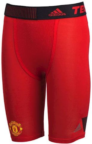 adidas Manchester United TechFit Cool Tights Real Red Black
