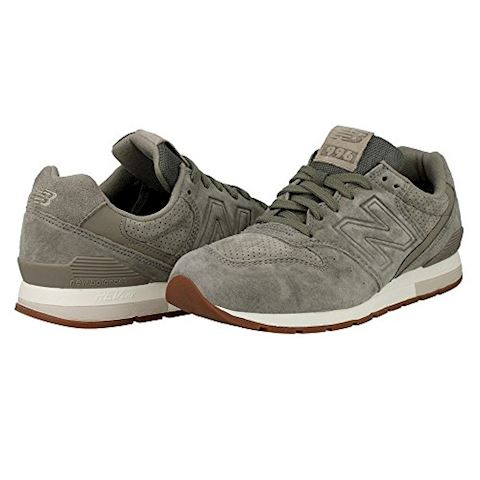 New Balance  MRL996  women's Shoes (Trainers) in Grey Image 7
