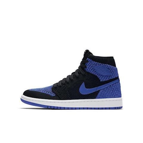 Nike Air Jordan 1 Retro High Flyknit Older Kids' Shoe - Blue Image