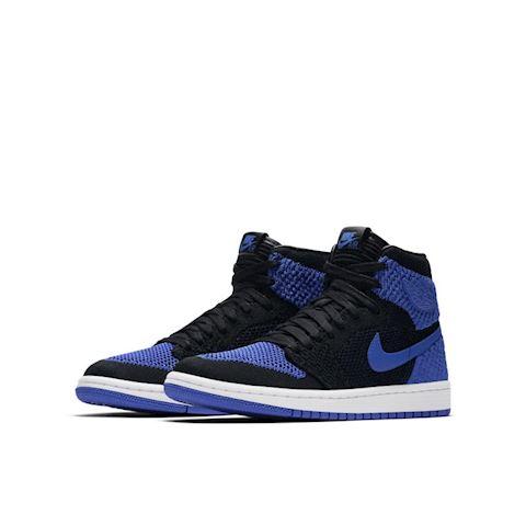 Nike Air Jordan 1 Retro High Flyknit Older Kids' Shoe - Blue Image 2