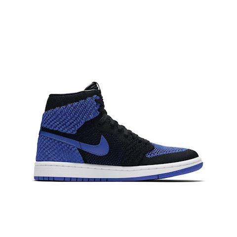Nike Air Jordan 1 Retro High Flyknit Older Kids' Shoe - Blue Image 3