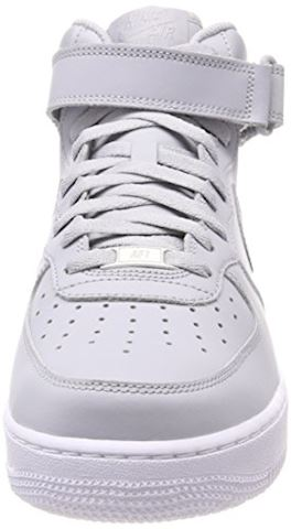 Nike  AIR FORCE 1 MID 07  men's Shoes (High-top Trainers) in Grey Image 4