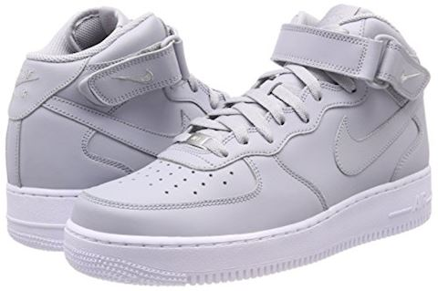 Nike  AIR FORCE 1 MID 07  men's Shoes (High-top Trainers) in Grey Image 5