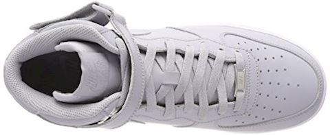 Nike  AIR FORCE 1 MID 07  men's Shoes (High-top Trainers) in Grey Image 7