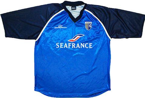 Gillingham Mens SS Home Shirt 2001/02 Image