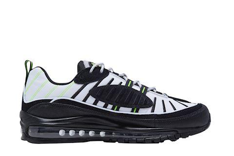 Nike Air Max 98 Platinum Tint Black Electric Green