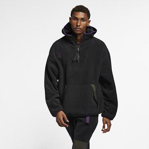 Nike ACG Sherpa Fleece Hoodie - Black Image 2
