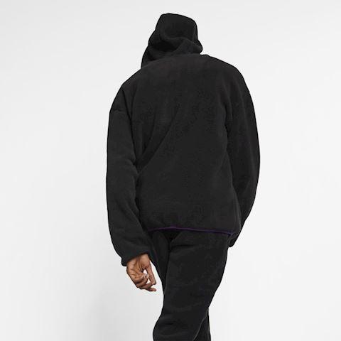 Nike ACG Sherpa Fleece Hoodie - Black Image 3