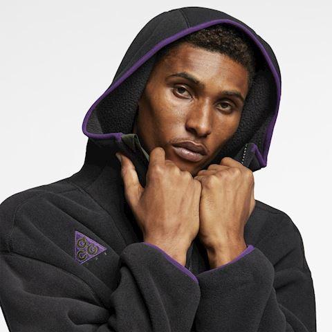 Nike ACG Sherpa Fleece Hoodie - Black Image 4
