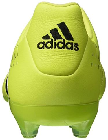 lowest price 3e9a3 9cb8c adidas ACE 16.2 FG AG Leather Solar Yellow Core Black Silver Metallic