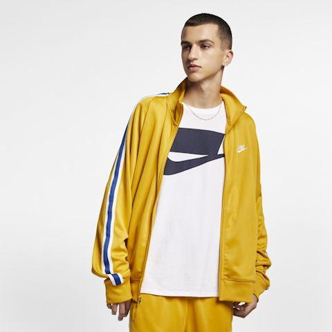 6baef97f2 Nike Sportswear N98 Men's Knit Warm-Up Jacket - Gold | AR2244-711 ...