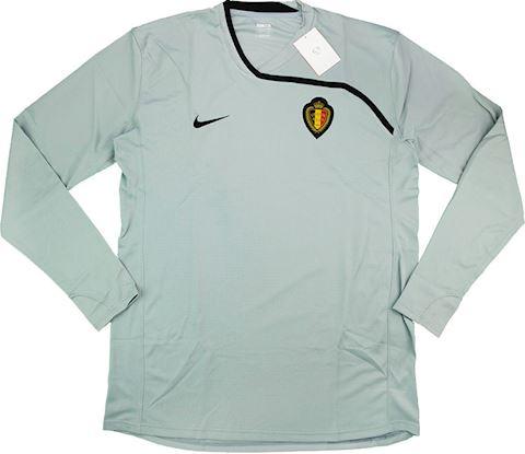 Nike Belgium Mens LS Goalkeeper Player Issue Home Shirt 2008 Image