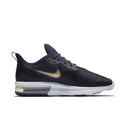 Nike Air Max Sequent 4 Women's Shoe - Black Image 3