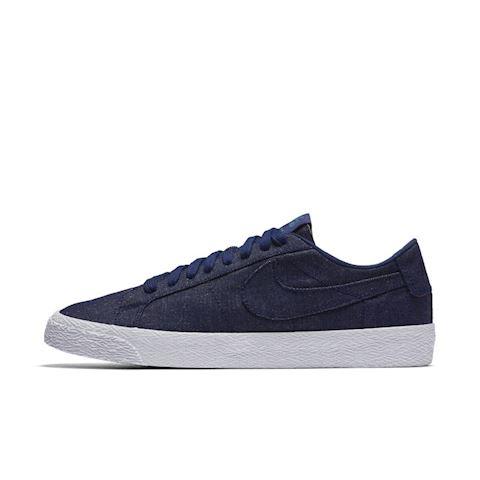 Nike SB Zoom Blazer Low Canvas Deconstructed Men's Skateboarding Shoe - Blue Image