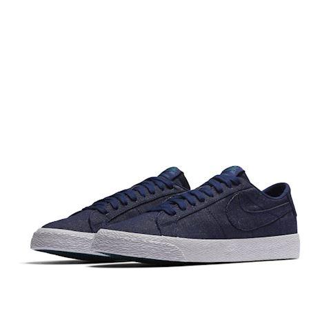 Nike SB Zoom Blazer Low Canvas Deconstructed Men's Skateboarding Shoe - Blue Image 2