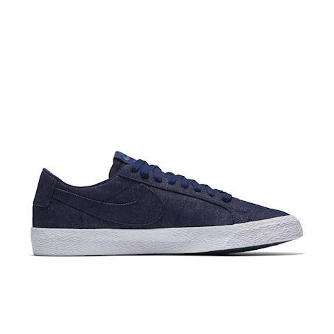 Nike SB Zoom Blazer Low Canvas Deconstructed Men's Skateboarding Shoe - Blue Image 3
