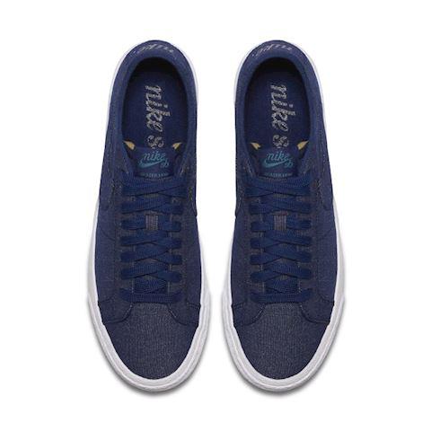 Nike SB Zoom Blazer Low Canvas Deconstructed Men's Skateboarding Shoe - Blue Image 4