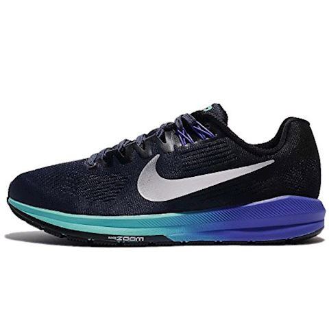 Nike Air Zoom Structure 21 Women's Running Shoe - Blue Image
