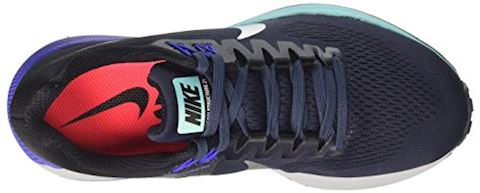 Nike Air Zoom Structure 21 Women's Running Shoe - Blue Image 15