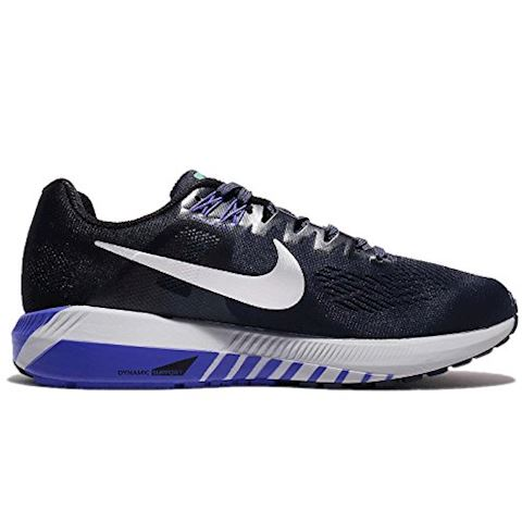 Nike Air Zoom Structure 21 Women's Running Shoe - Blue Image 2