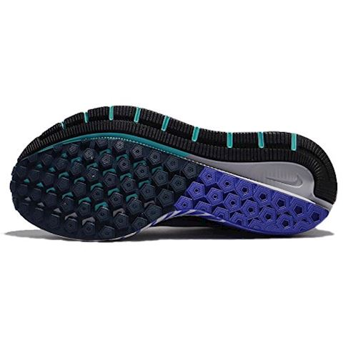 Nike Air Zoom Structure 21 Women's Running Shoe - Blue Image 4