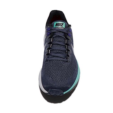 Nike Air Zoom Structure 21 Women's Running Shoe - Blue Image 5