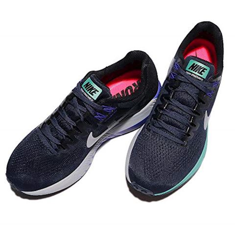 Nike Air Zoom Structure 21 Women's Running Shoe - Blue Image 6